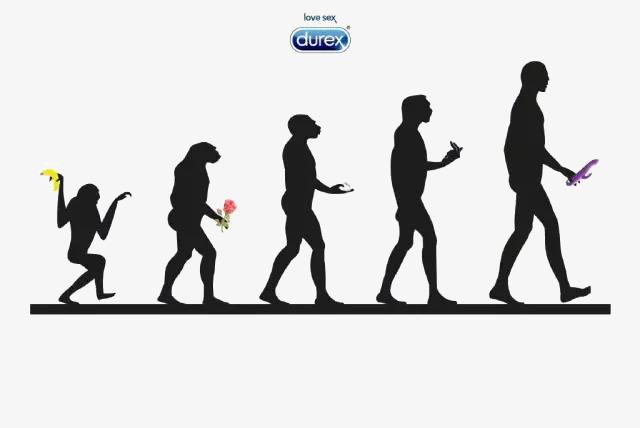 640x428 Durex Ape Evolution, Ape Man, Evolution, Process Png Image