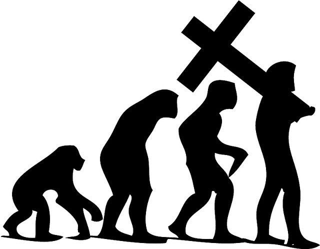 640x498 Theistic Evolution Undermines The Gospel