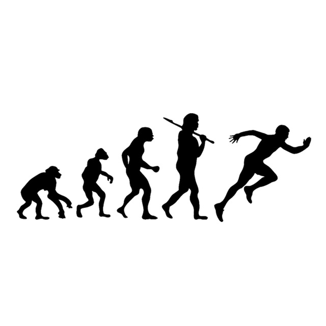 Evolution Silhouette