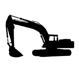 270x270 Excavator Stencil Free Stencil Gallery