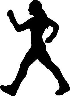 245x334 Exercise Silhouette Clip Art