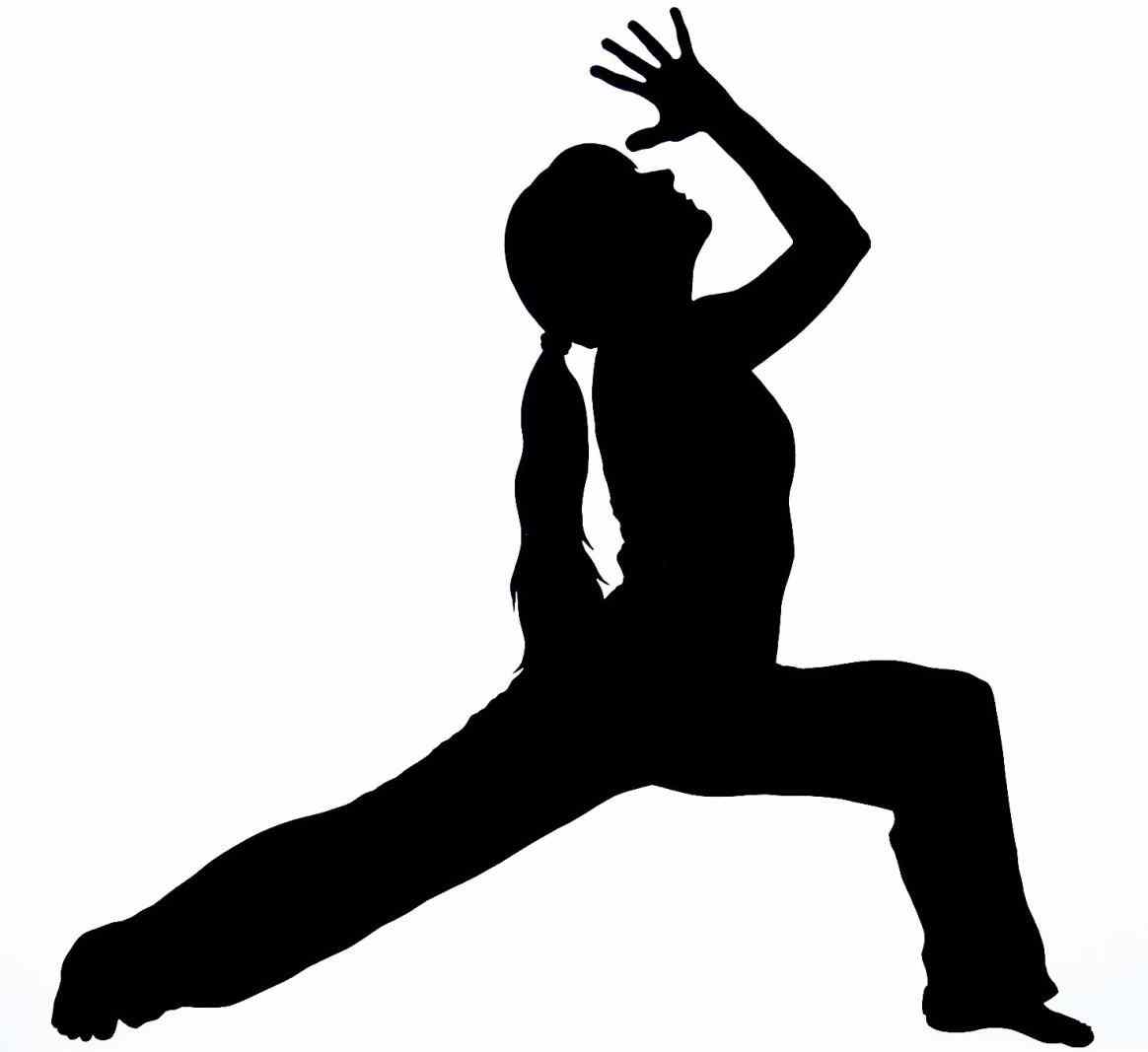 1164x1067 Library Exercise Cliparts Download Exercise Yoga Guy Silhouette