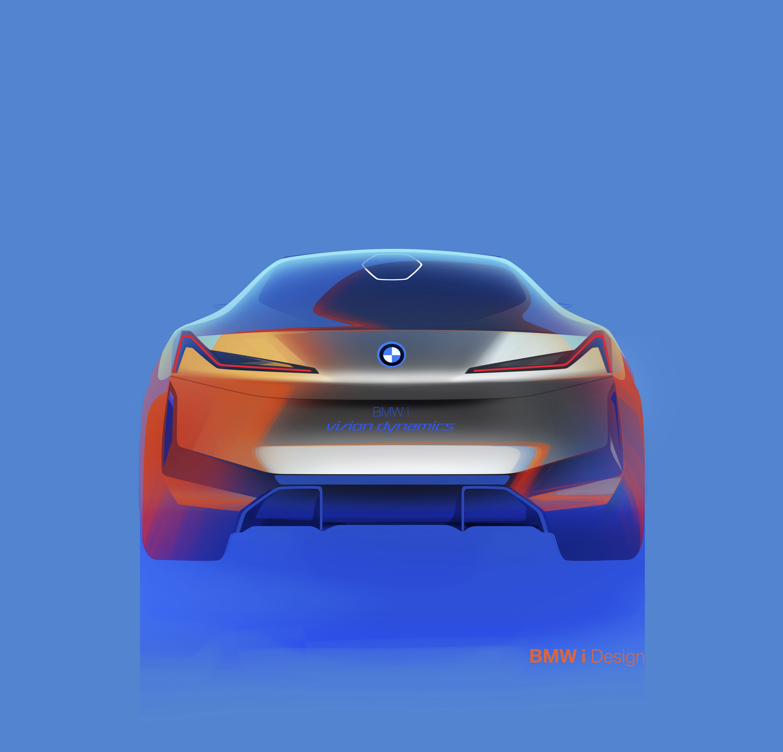 3000x2880 Bmw I Vision Dynamics Previews Tesla Model S Fighter News