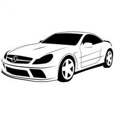 236x236 Luxury Car Vector Clip Art. Vehicles Free Vectors