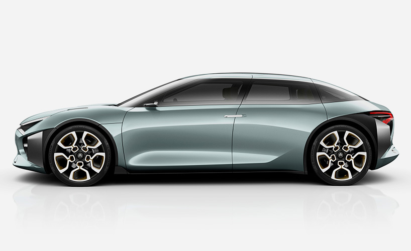 818x500 Citroen Cxperience Hybrid Concept Showcases A Sporty Form Cars