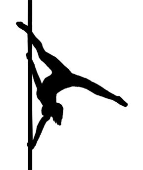 289x344 Pole Dance Silhouette Photos Online