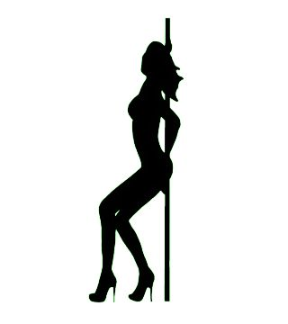 320x360 Exotic Dancer Silhouette Imphavok Impressions