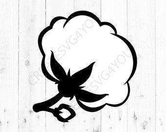 340x270 Cotton Cotton Boll Svg Dxf Eps Png Pdf Download