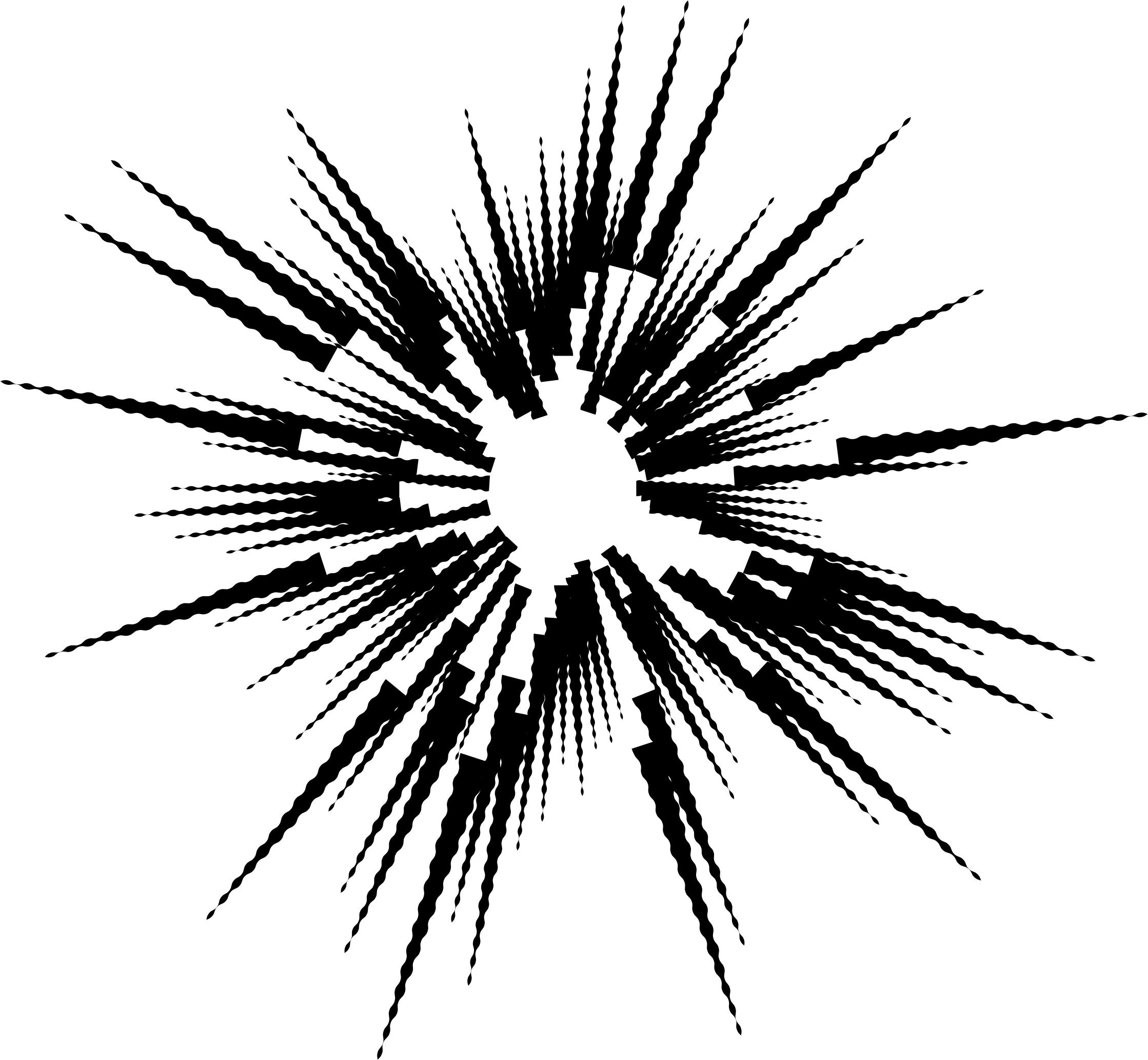 2238x2066 Explosion Silhouette Icons Png