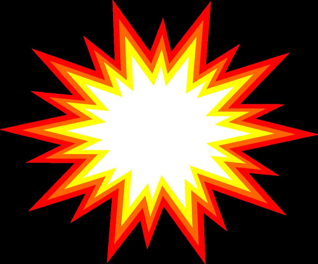 1024x850 6 Starburst Explosion Comic Vector (Png Transparent, Svg