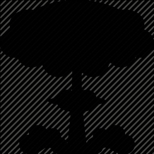 512x512 Atomic, Explosion, Hiroshima, Mushroom Cloud, Nuclear, Radiation