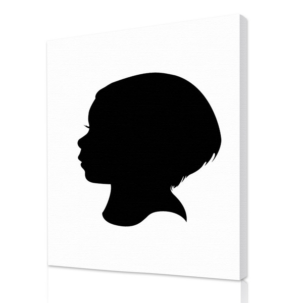 600x600 Silhouette Portraits From Your Photos