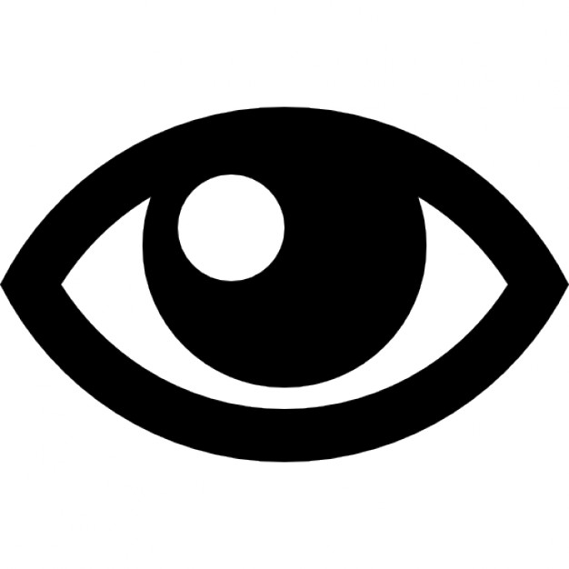 626x626 Eye Outline Icons Free Download
