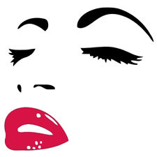 225x225 Audrey Hepburn S Eyes Silhouette Wall Sticker Decals Home Decor