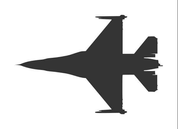 F 16 Silhouette
