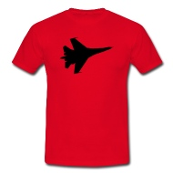 190x190 F16 Fighter Jet Silhouette By Tshirtdesigns Spreadshirt