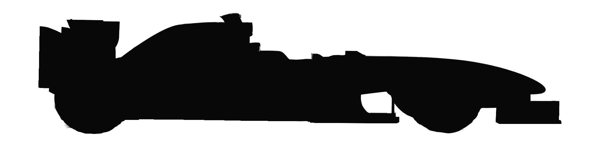 F1 Car Silhouette
