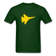 190x190 F16 Flying Jet Silhouette By Azza1070 Spreadshirt