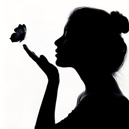 500x500 Free Face Silhouette, Hanslodge Clip Art Collection