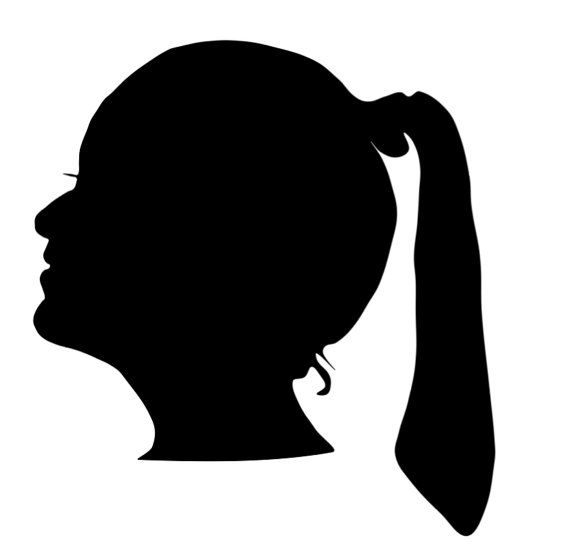 570x552 Shadow Portrait. Profile Silhouette. Custom Made. By Padiddletruck