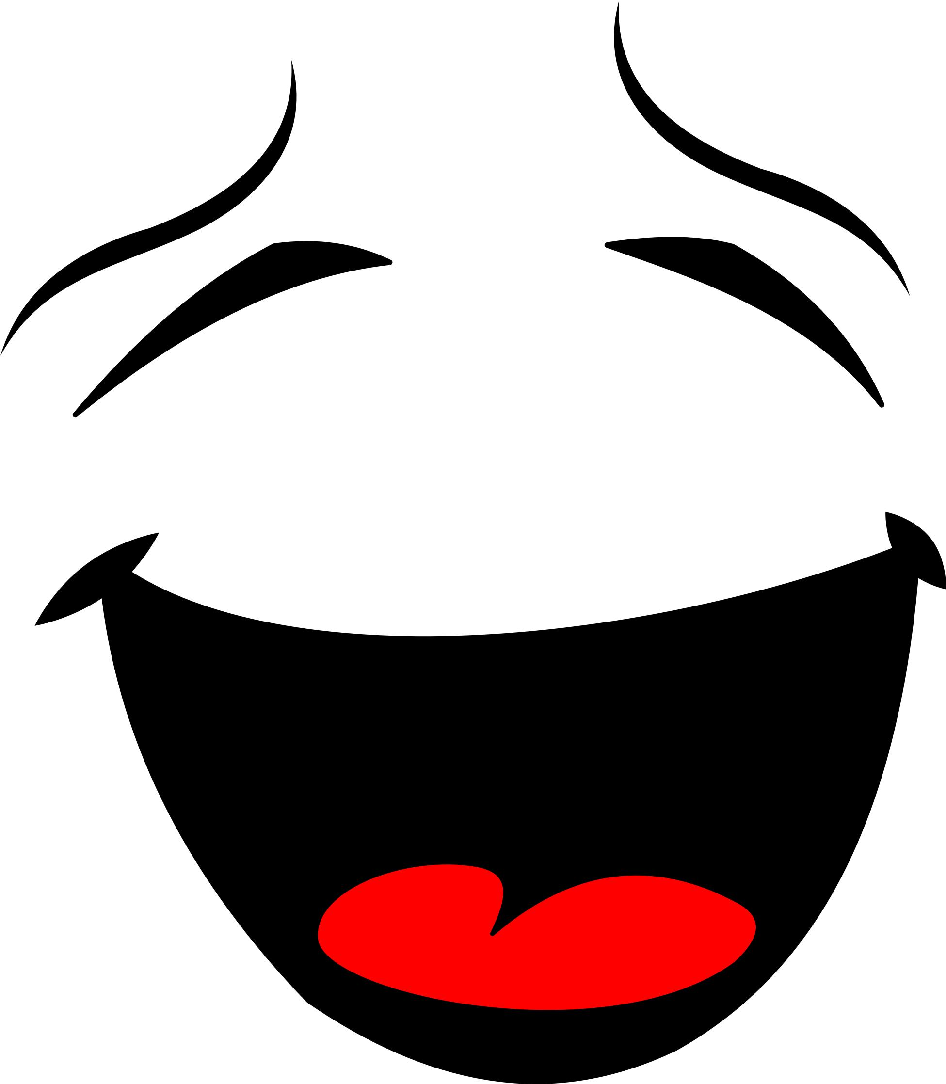 1951x2236 Laughing Smiley Face Silhouette Icons Png