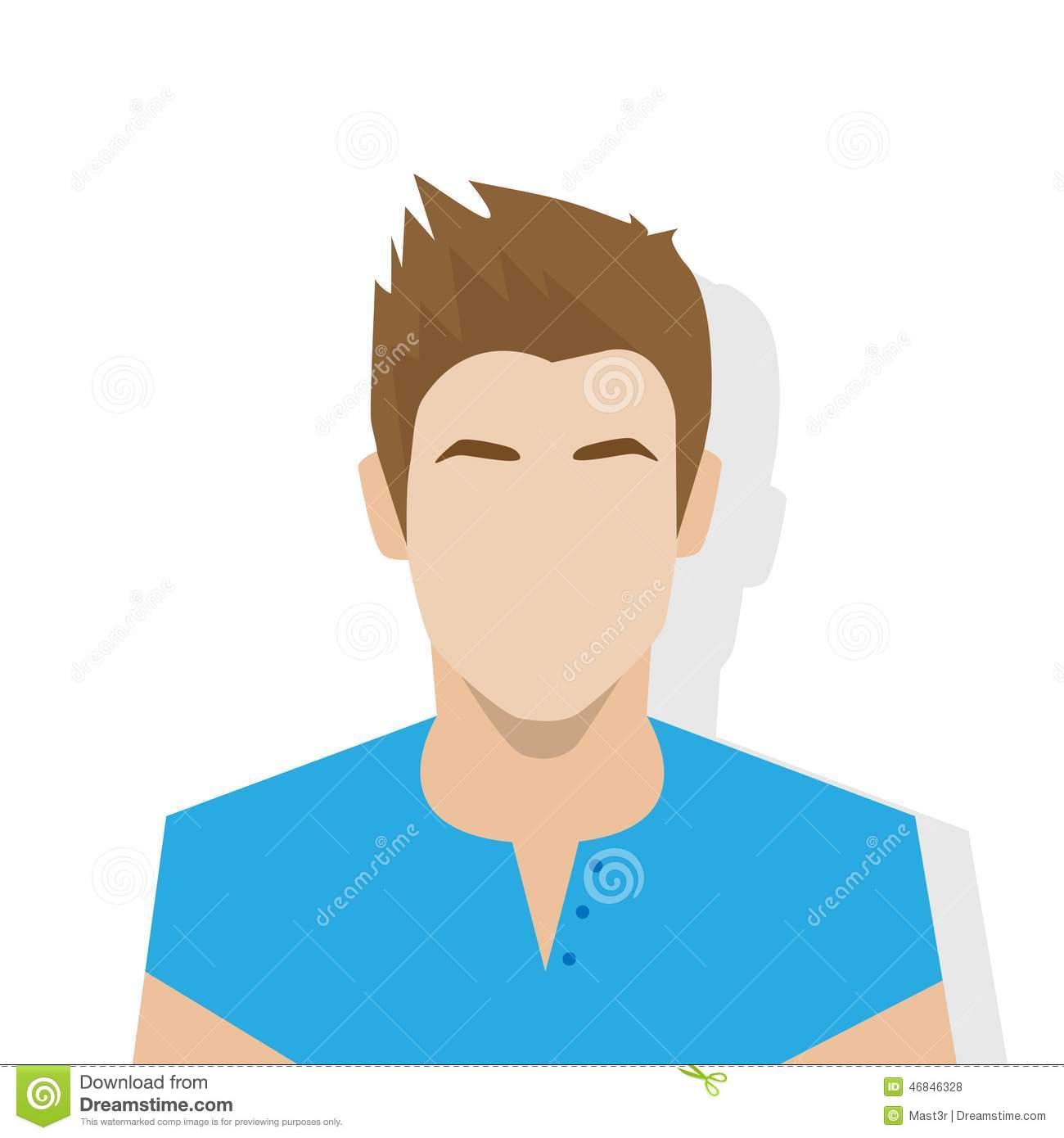 1300x1390 Profile Icon Male Avatar Portrait Casual Person Silhouette Face