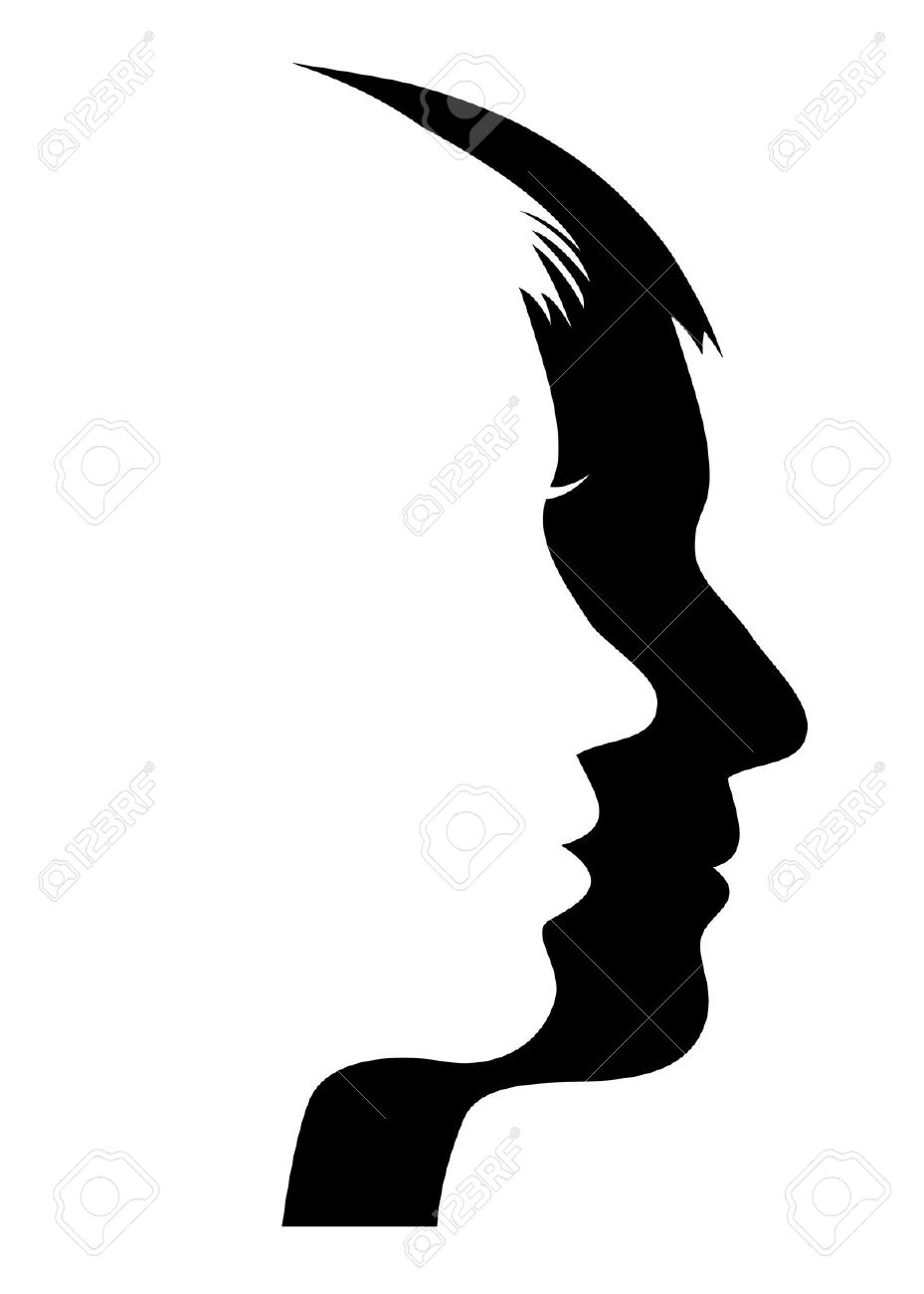929x1300 Siloette Head Shoulders Outline Clipart Collection