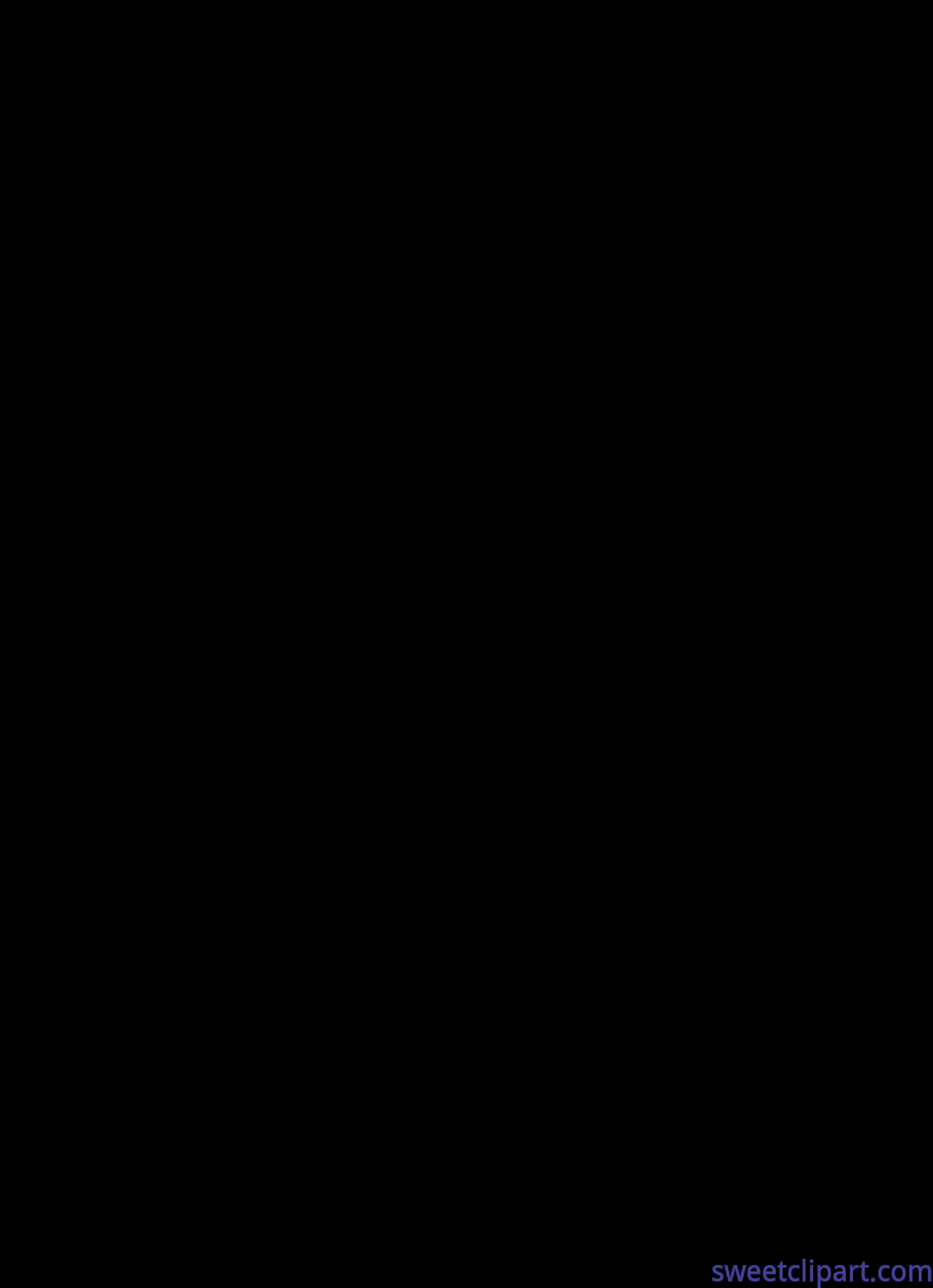 4826x6660 Anchor Silhouette Clip Art