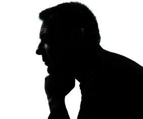 283x236 Man Thinking Silhouette O Man Silhouette Facebook