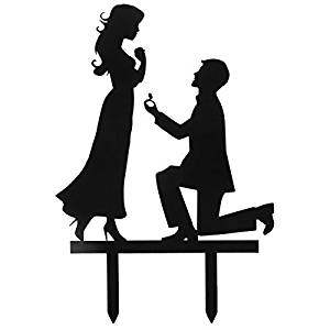 300x300 Grinde No Personalized Engagement Wedding Cake Topper