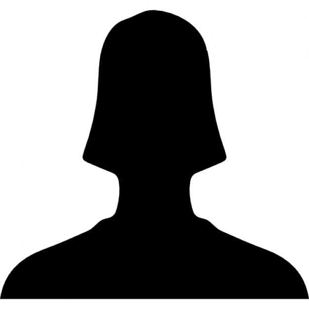 626x626 User Close Up Silhouette For Facebook Icons Free Download