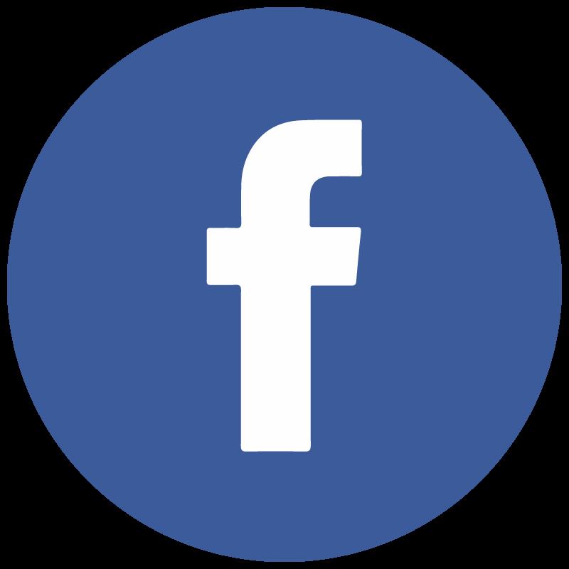 800x800 Facebook F Round Icon Vector Logo Free Vector Silhouette