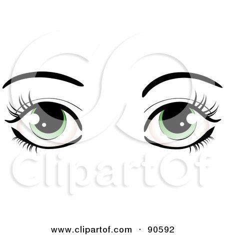 450x470 Eyelash Clipart Silhouette