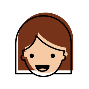 300x300 Middle Aged Woman Royalty Free Illustrations