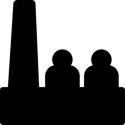 512x512 Factory Workers Silhouette