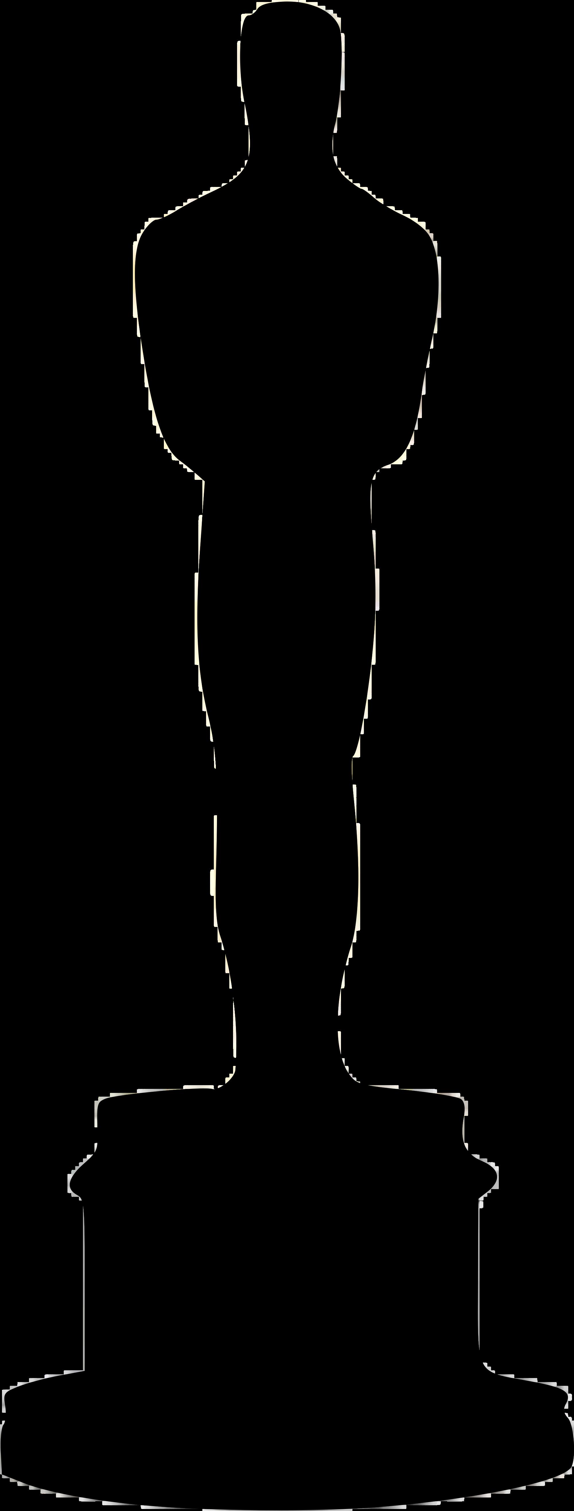 2000x5262 Oscar Silhouette Clipart
