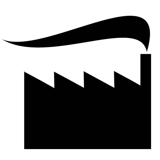 660x660 Factory Icon Silhouette