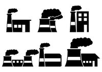 200x142 Factory Silhouette Icons Vector Free Vector Download In Ai