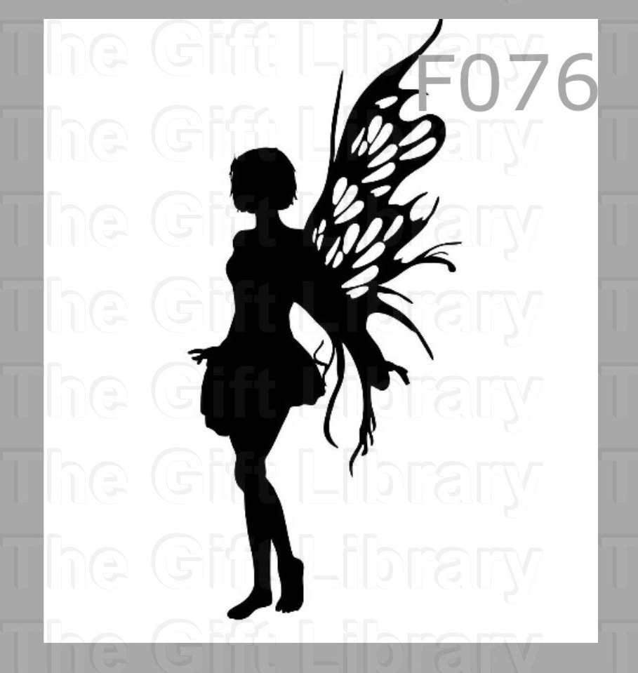909x959 Fairy Vinyl Decals, Stickers, Adhesive Vinyl, Silhouettes, Fairies