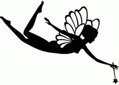 236x169 Instant Download Fairy Silhouette Digital By Institchesembroidery