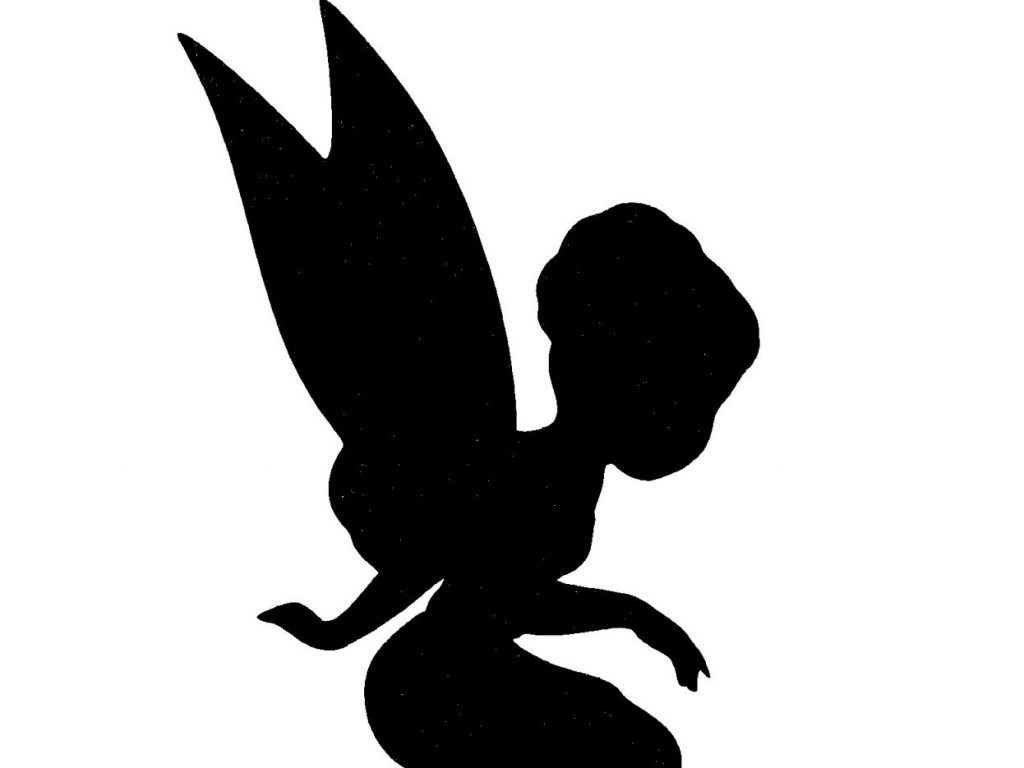 Fairies Silhouette At Getdrawings Com Free For Personal Use