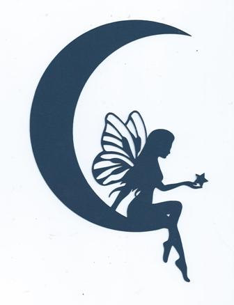 336x438 Moon Fairy Silhouette By Hilemanhouse On Etsy Cool Stuff