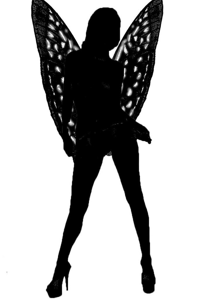 683x1024 Fairy Silhouette Robin Hutton