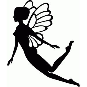 300x300 52 Best Fairies Images On Fairy Silhouette, Silhouette
