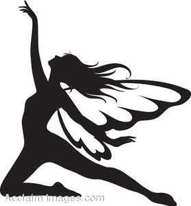 279x300 The Silhouette Of A Fairy April Silhouette, Fairy