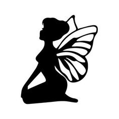 236x236 9 Best Images Of Printable Fairy Silhouette