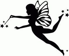 236x191 Black And White Fairies Clipart