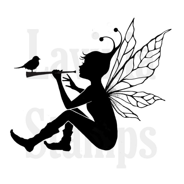 Fairy Silhouette Art