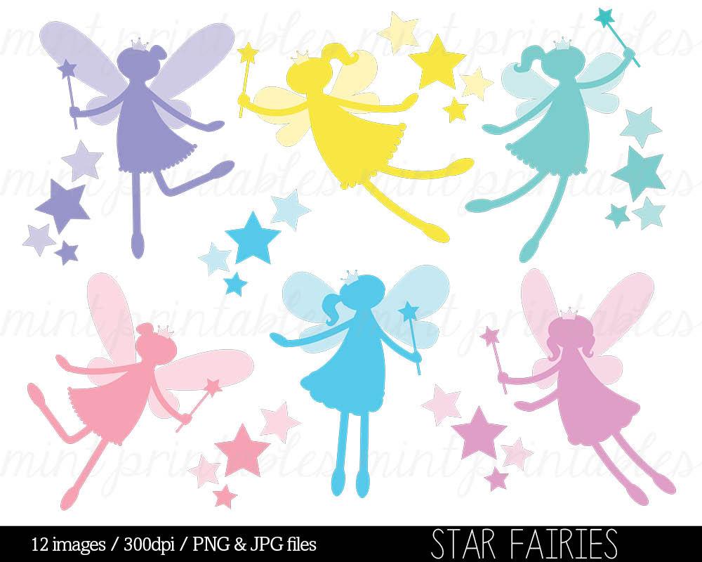 1000x800 Fairy Silhouette Digital Clipart Clip Art Clipart Fairies