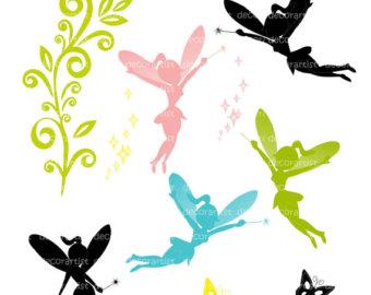 340x270 Fairy Clip Art, Silhouette Clipart Panda